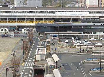 空港や駅への送迎交通機関への移動手段として